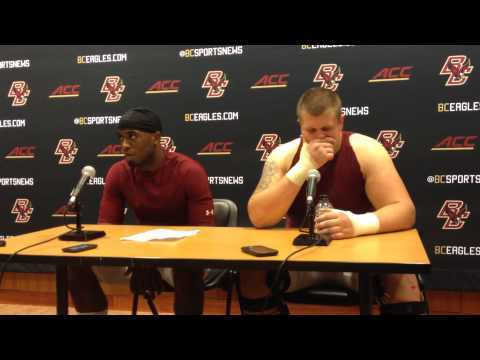 Andy Gallik Interview 9/13/2014 video.