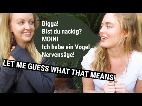 Teaching My American Friend Funny German Words and Phrases