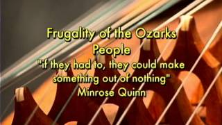 Introduction To World Music: Lecture 6 - Traditional Ozark Music I