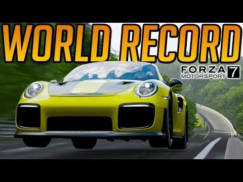 Forza 7 Nurburgring World Record Attempt - Porsche GT2 RS