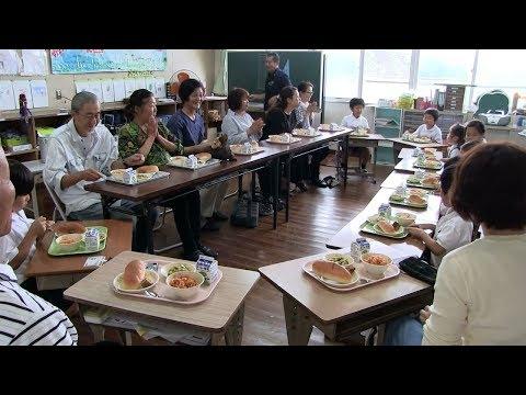 種子島の学校活動:南界小学校ようこそ!大先輩じいちゃん・ばあちゃんとのふれあい活動2018年