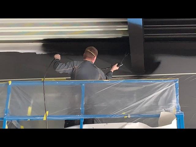 Damwand coating