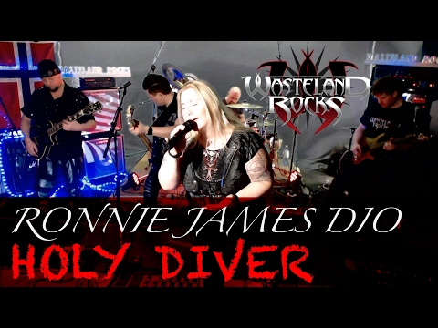 Video HOLY DIVER - RONNIE JAMES DIO - Cover with Lyrics - Streamed LIVE in  HD