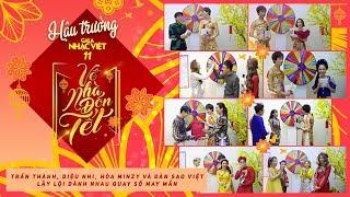 Video Trấn Thành, Diệu Nhi, Hòa Minzy và dàn sao Việt lầy lội dành nhau quay số may mắn MP3, 3GP, MP4, WEBM, AVI, FLV Februari 2018