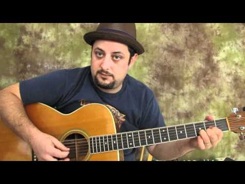 M – Easy songs beginner guitar lesson how to play simple songs