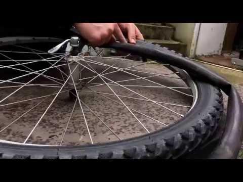 Fahrrad Schlauch wechseln MTB 26 Zoll Schlauch montieren und demontieren Anleitung DIY