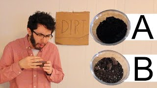 Dirt Expert Guesses Cheap vs Expensive Dirt | Price Points Parody
