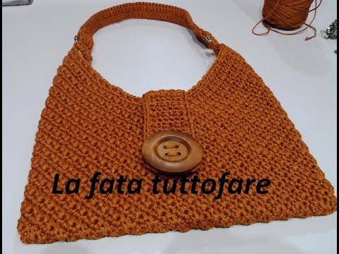 """borsa """"masa"""" in cordino fatta a mano"""