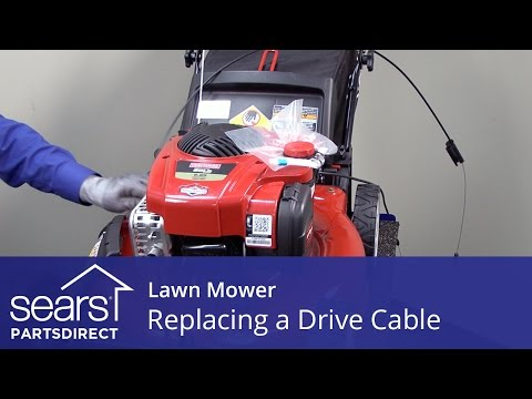 Replacing the Drive Cable on a Lawn Mower