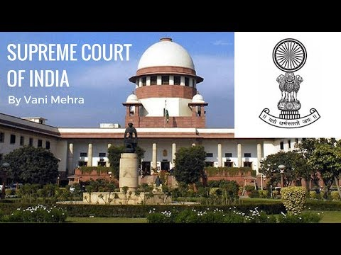 Video Supreme Court Of India - Judiciary System in India By Vani Mehra download in MP3, 3GP, MP4, WEBM, AVI, FLV January 2017