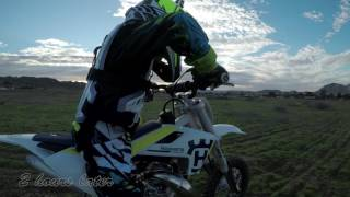 9. GoPro: Nephew on the Husqvarna TC50