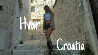 Hvar Croatia  City pictures : Summer day in Hvar,Croatia