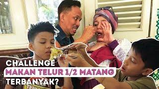 Video CHALLENGE MAKAN TELUR REBUS 1/2 MATANG TERBANYAK ? MP3, 3GP, MP4, WEBM, AVI, FLV Mei 2019