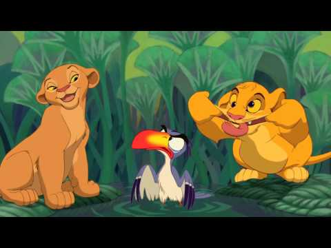 THE LION KING 3D - 'Just Can't Wait To Be King