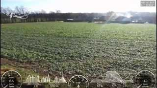 Parrot Bebop 2, max speed test with GPS overlay