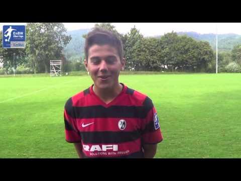 B-Junioren SC Freiburg II Markus Feger