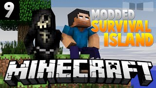 WE MADE A FRIEND! [9] ( Modded Survival Island ) w/AciDic BliTzz&Taz!