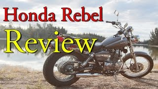 2. 2013 Honda Rebel 250 Review