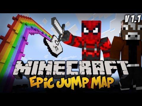 Minecraft : MANDZIO ZABIJE CIE !! - Epic Jump Map 1.1 w/ xMandzio [#2]