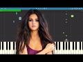 Selena Gomez - Bad Liar - EASY Piano Tutorial