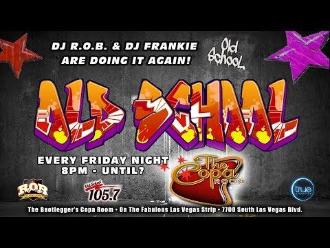 DJ R.O.B. and DJ Frankie Old School Fridays Highlights (видео)
