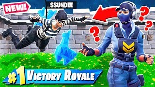 STEAL the MUSEUM LLAMA  *NEW* Game Mode in Fortnite Battle Royale