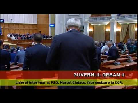 Guvernul Orban II, în pregătire
