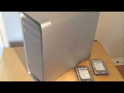 2012 mac pro - Guide to upgrading / installing a Hard Disk Drive or RAM into an Apple Mac Pro 2011/2012 Computer.