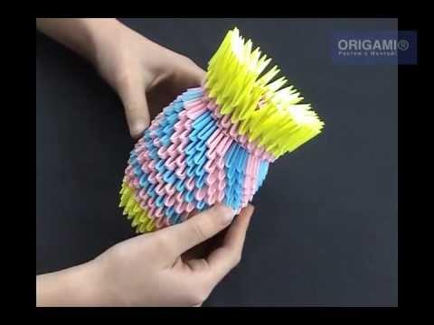 Ваза оригами - DomaVideo.Ru