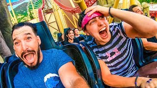Video TAKING OVER AN AMUSEMENT PARK!! w/ Sam, Colby, Corey & Andrea MP3, 3GP, MP4, WEBM, AVI, FLV Agustus 2019