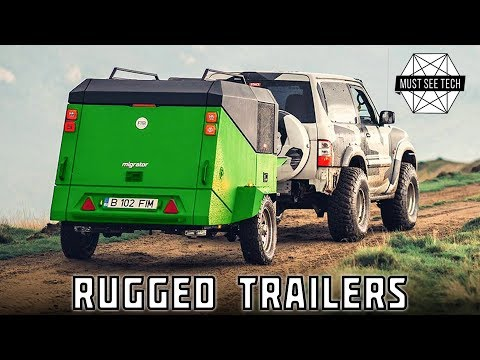 Top 9 Rugged Camping Trailers for Tough Overlanding Trails 2019 Review