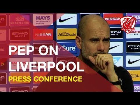 Pep Guardiola Previews Man City Vs. Liverpool