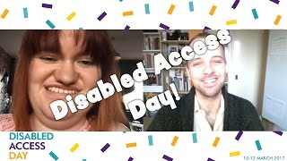 Muscle Owl Talks Ep39: Disabled Access Day (Weekend!)