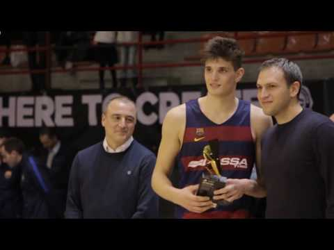 ANGT L'Hospitalet MVP: Sergi Martinez, U18 FC Barcelona Lassa