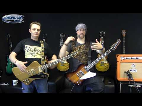 RobChappers - Chappers & the Captain get their hands on some Gibson Firebirds & can't help but rock out. What started as a fairly sensible & well intended review of this c...