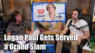 Theo Von Asks Chris D'Elia About Serving a Grand Slam to Logan Paul