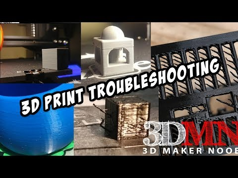 Troubleshooting 3D Print Issues - Retraction, Coasting, Zits and MORE!