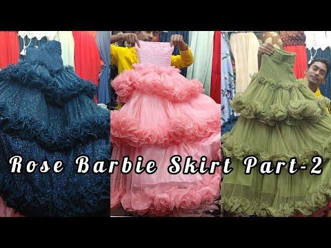 Rose  Barbie Skirt Part -2 // Best Quality Barbie Skirt In Bd
