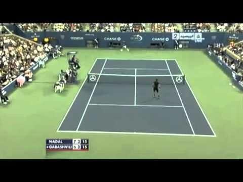Gabashvili vs. Nadal