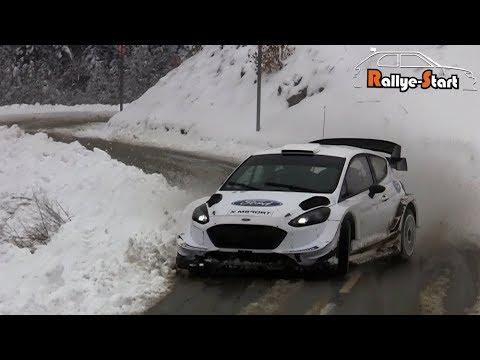 Rallye Monte-Carlo 2018 [HD] - Test S.Ogier Ford Fiesta WRC
