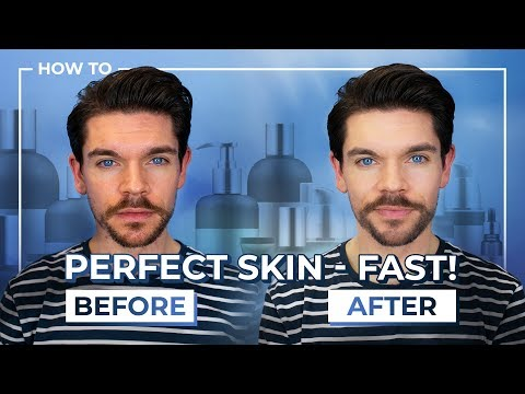 Mens hairstyles - Best Products To FAKE Perfect Skin  Men's Skin Care
