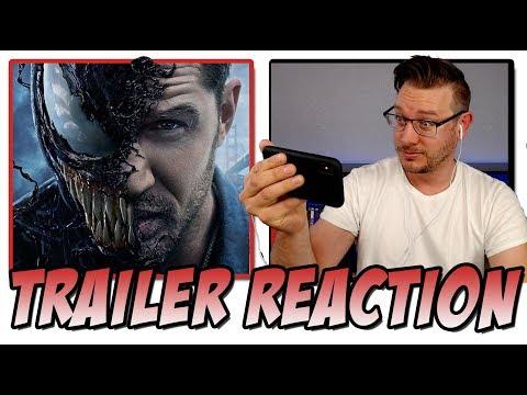 VENOM Official Trailer #2 (2018) Reaction!  (Starring Tom Hardy)