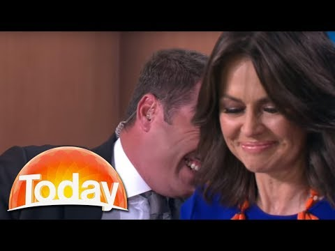 Australian Morning Show Anchor Takes a Few Seconds to Realize What She's Said Live