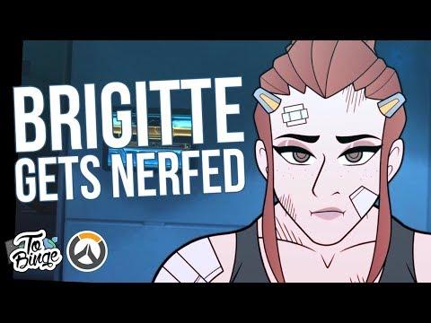 Brigitte Gets Nerfed: Overwatch Animated