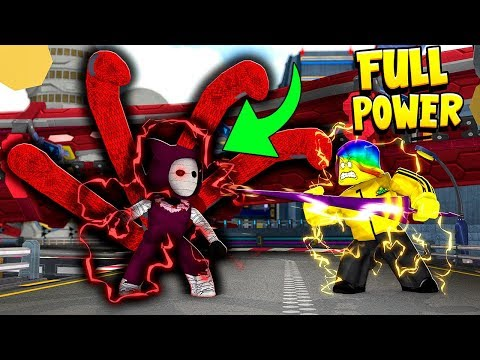 I used FULL POWER against the #1 FINAL BOSS (Roblox)