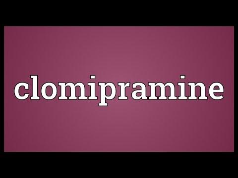 Clomipramine Meaning