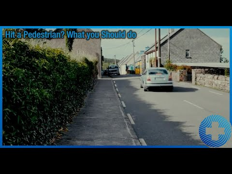 Hit a Pedestrian? What you Should do