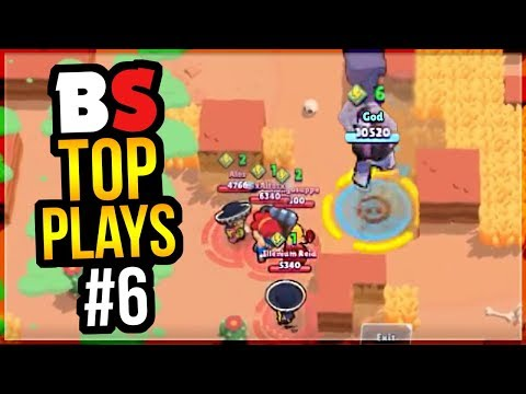 Best Plays & Moments in Brawl Stars History | BS Top Play Review #6