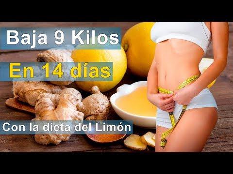 Dietas para adelgazar - Bajar 9 Kilos en 14 DIASCon la dieta del LIMÓN.PERDER PESO RÁPIDO 2018.