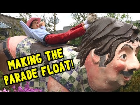 MAKING THE DADDY SADDLE FLOAT! // Haters Back Off BTS